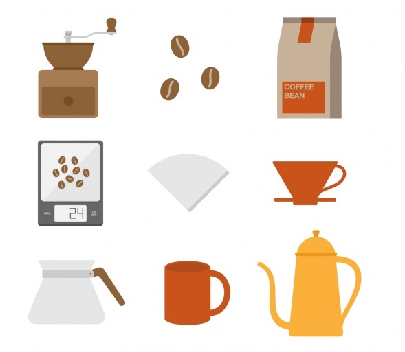 brewing pourover method