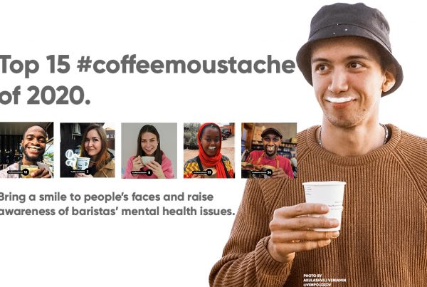 coffee moustache