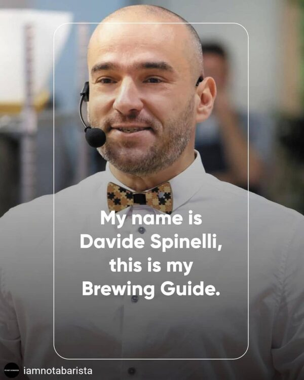 Davide Spinelli brewing guide