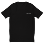 mens fitted t shirt black front 608d1659215f6